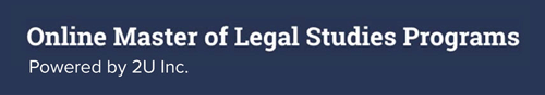 Online Master of Legal Studies